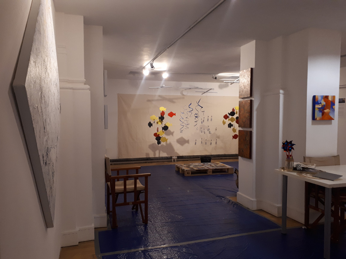 Different angle of the exhibition