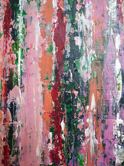 'Illusions of Grandeur, A Brief Escape - in Magenta and Green'