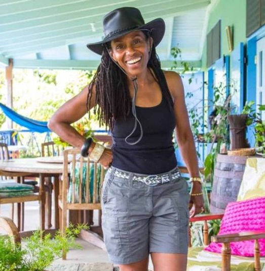 Carla Armour at Harmony Villa, Dominica