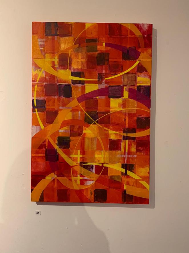 Vaval. Acrylic on Canvas