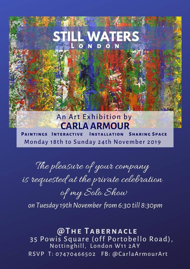 INVITATION.Carla Armour @ the Tabernacle