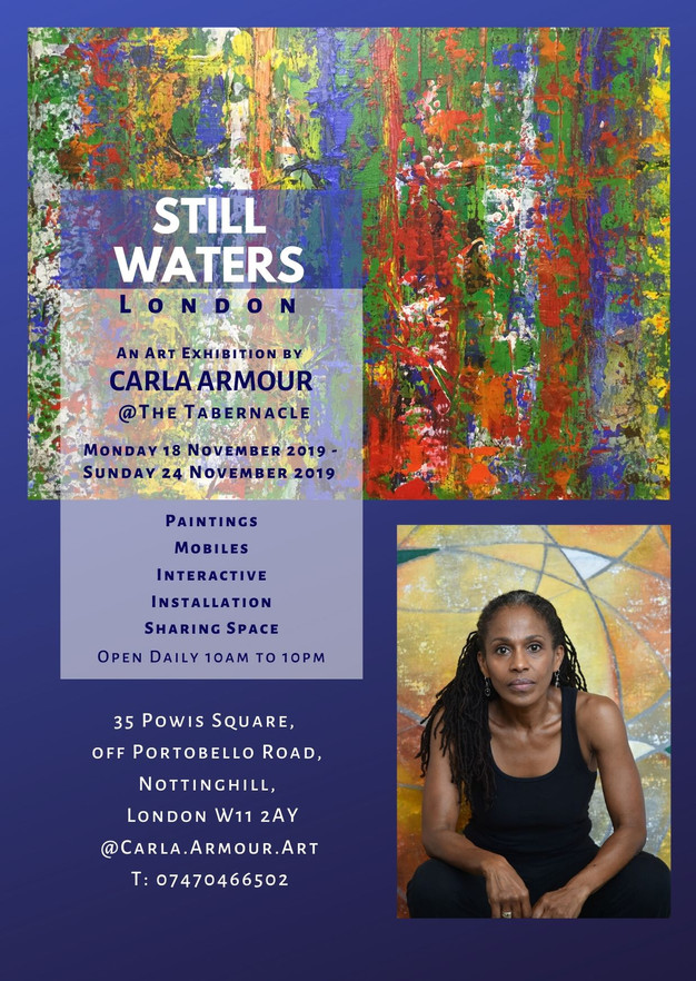 PROMO CARD Carla Armour  at the Tabernacle