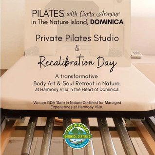 Private Studio Pilates Sessions and Recalibration Days