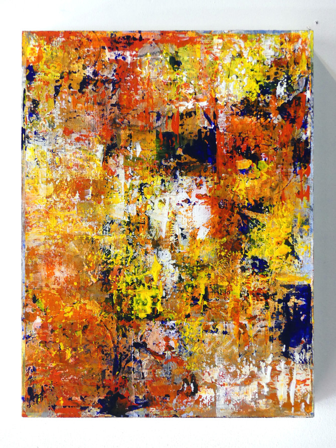 Scorched & Scraped  Pieces numbered 1 to 3  3 pcs - 1 piece  15 x 20 inches