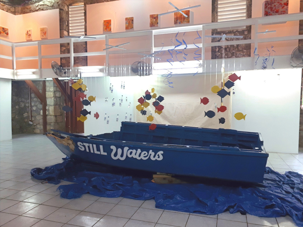 Central Installation. Still Waters