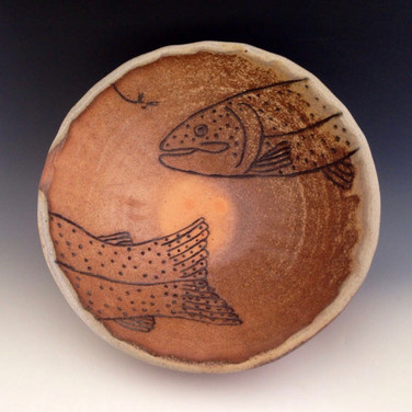 Wood fired fly fishing bowl.