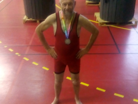 Fight Finder wrestler Mike wins Silver Medal at Gay Games