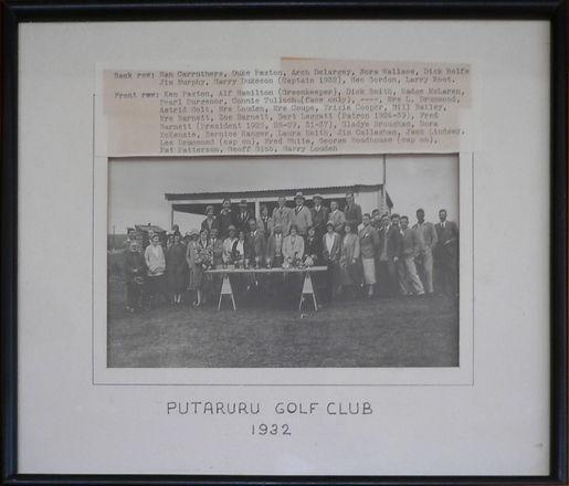 Putaruru Golf Club 1932.jpg
