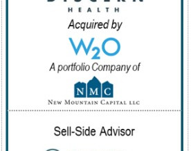 Chesapeake Corporate Advisors Serves as Exclusive Advisor to Discern Health in its sale to W2O