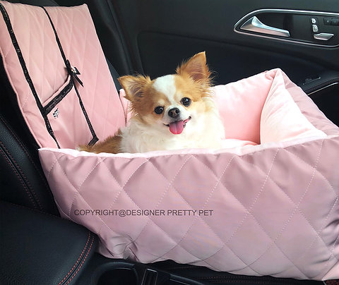 Pretty Pet pocket car seat driving kit (CS002Pink)