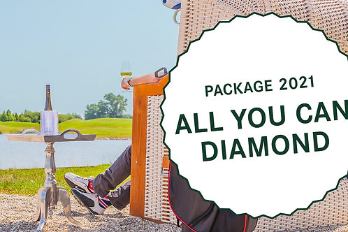 """All you can Diamond"" Package - 2 Nächte für 1 Person im Einzelzimmer"
