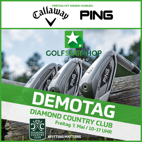 Demotage im Diamond Country Club am 7. & 8. Mai!