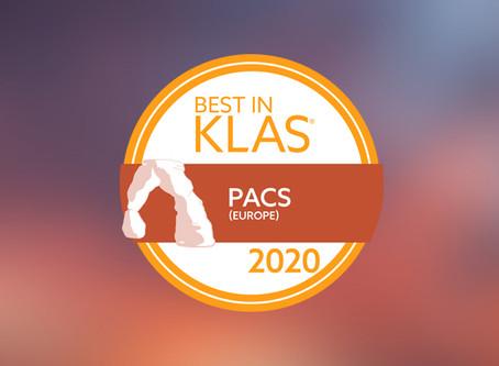 PRODUCT UPDATE: Best in KLAS: JiveX is Europe's No. 1 PACS again