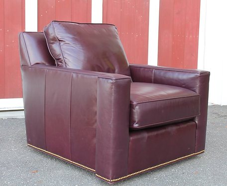 Century Leather Swivel Chair 2