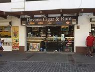 Havana Cigar & Rum Store Front