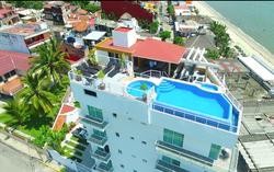 Top view Hotel Suites Nadia Bucerias