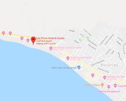Los Picos Hotel & suites Bucerias Map
