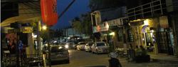 Jody's Bucerias Street at Night