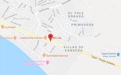 Mi lola Bucerias Map