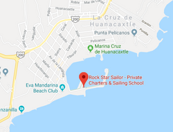 RockStar Sailor Bucerias Map