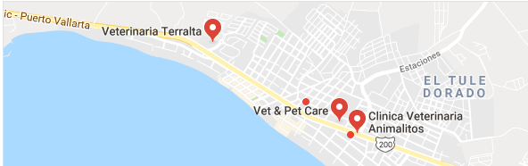 Vets in Bucerias Map.PNG