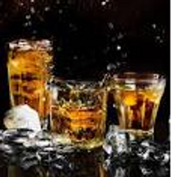 Image of alcohol glasses
