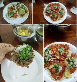 Tacos Junior Bucerias collage