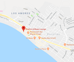 Rhythms and Blues Map Bucerias