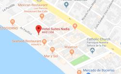 Hotel Suites Nadia  Map