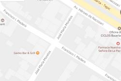 Map Sergio Santana