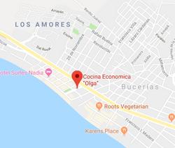 Cocina economica Olga Bucerias Map