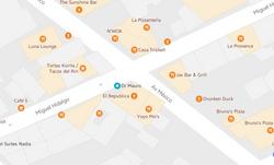 Map Dr Mauro Bucerias