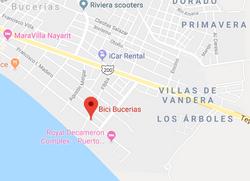 Bici Bucerias Map
