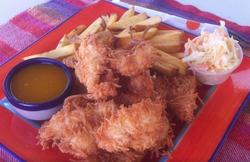 Mr & Mrs Fish Coconut Shrimp