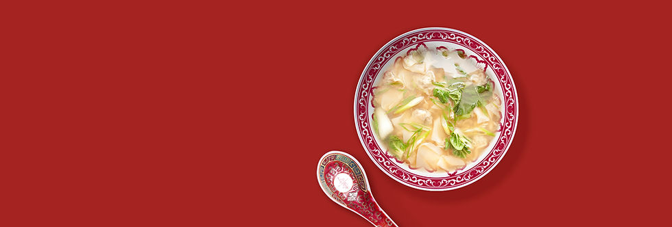 Traditional Chinese Won Ton Soup