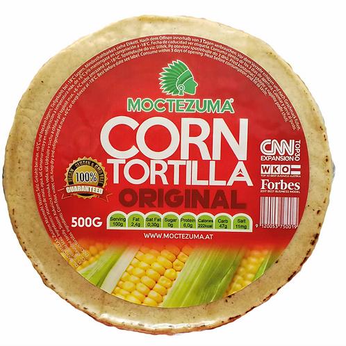 Tortillas de maíz Moctezuma (16 cm) sin conservadores