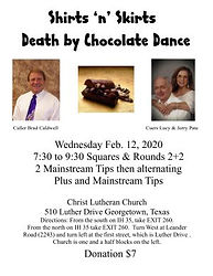 Death By Chocolate Dance