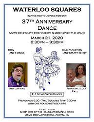 Waterloo Squares 37th Anniversary Dance