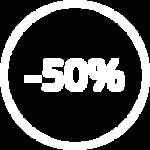 Скидка до 50% за безаварийную езду (КБМ=0,5)