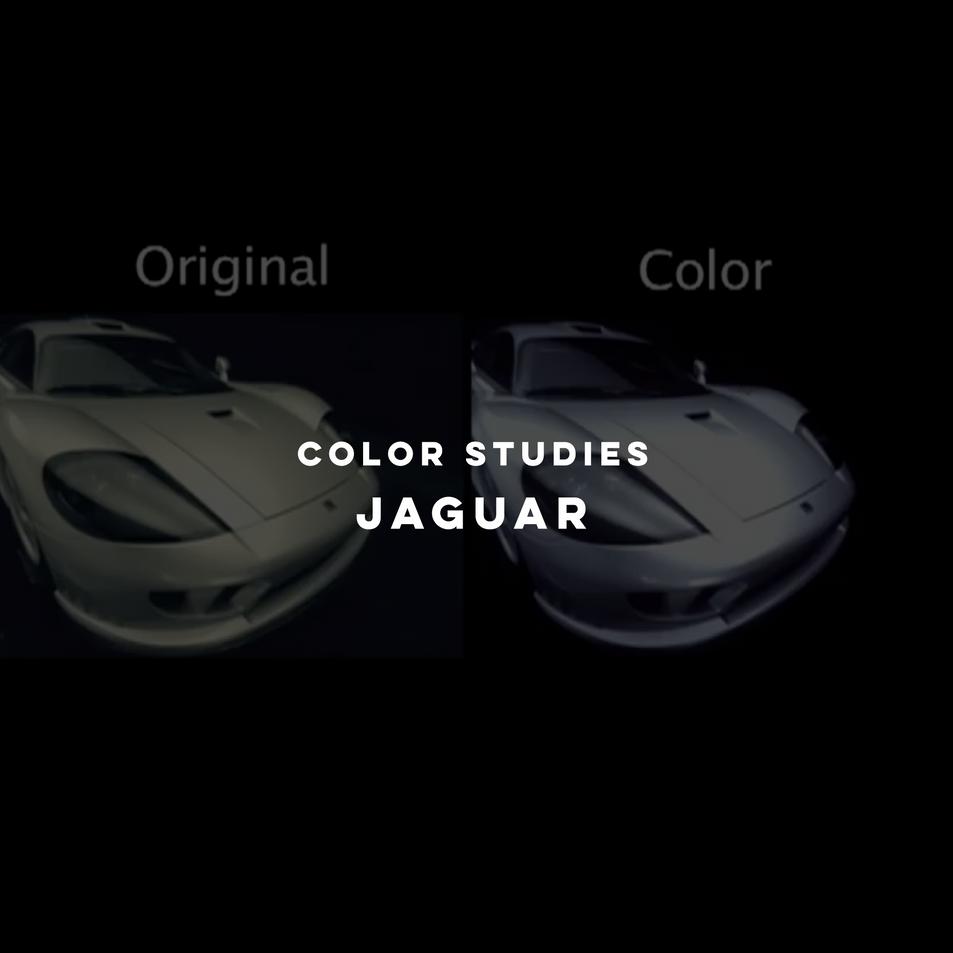 Color Studies - Jaguar