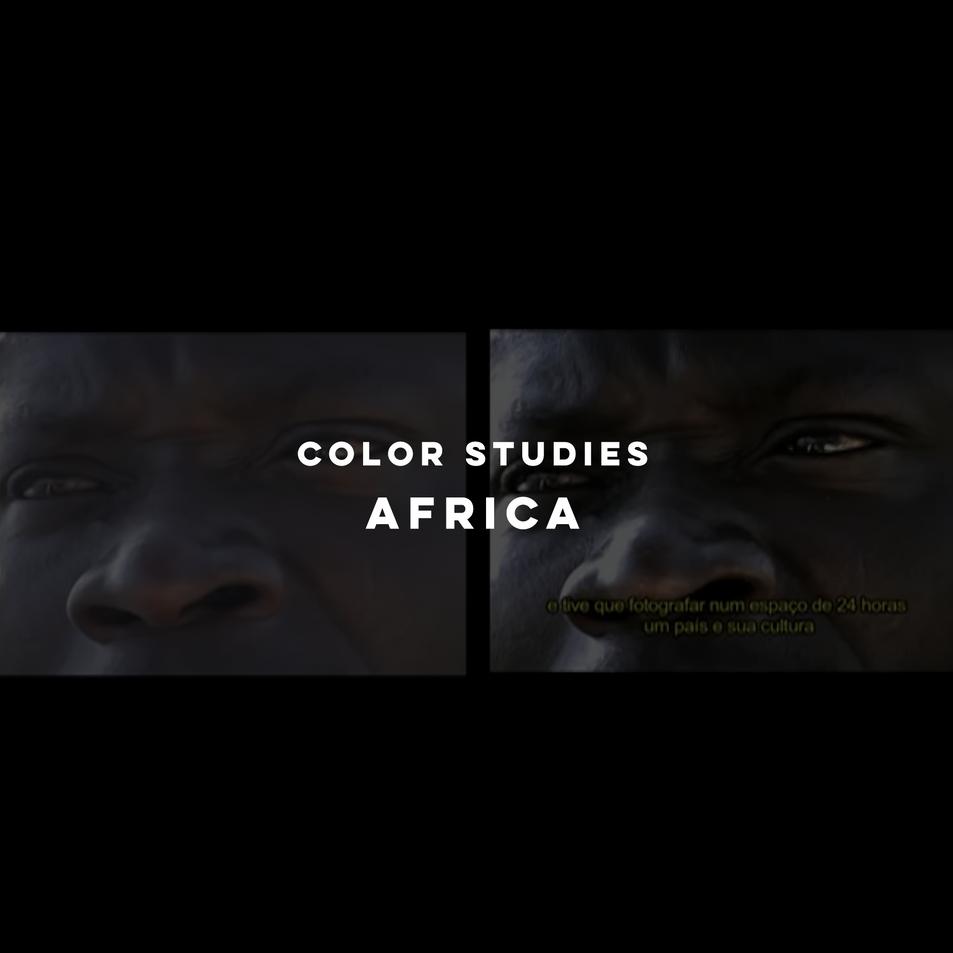 Color Studies - Africa