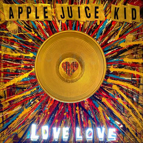 "APPLE JUICE KID... ""Love Love"" album cover"