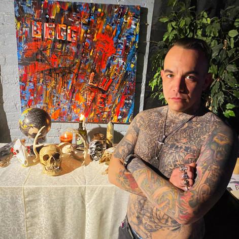 Mr. McHugh Of: Cardinal Tattoo.... Mebane, NC