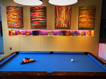 LETS PLAY! Aloft Hotel... Chapel Hill, NC