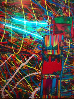 Neon and Acrylic