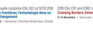 2018 ESA, ESC, and ESBC Joint Annual Meeting