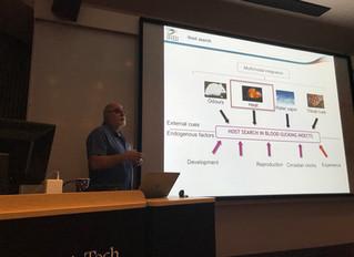 Prof. Claudio Lazzari visits us at VT!