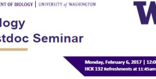 UW Bio post-doc seminar