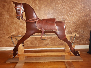 A used Rocking Horse gets a facelift and a new lease on life