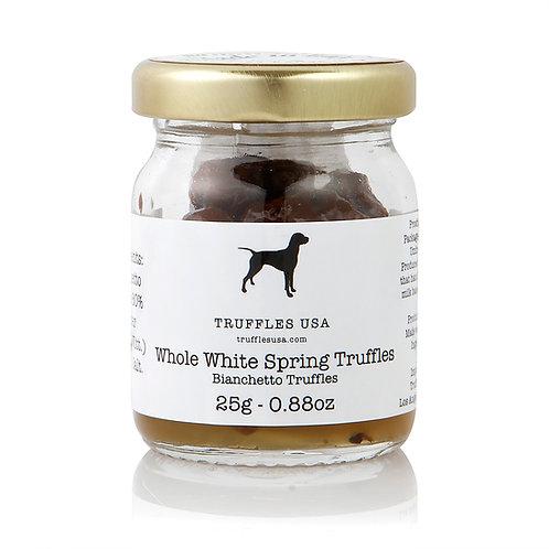 Whole White Spring Truffles 0.88oz (25 g)